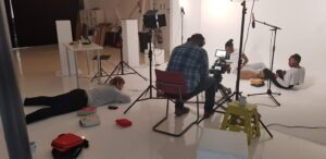 Our clients like to get relaxed during the filming.